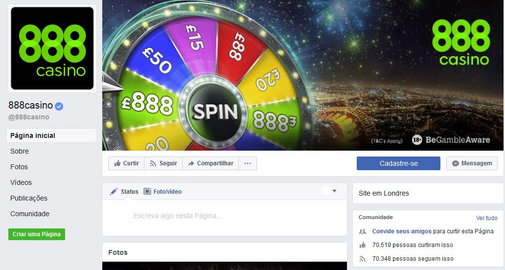 888casino facebook