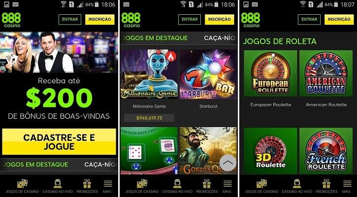 app 888casino mobile