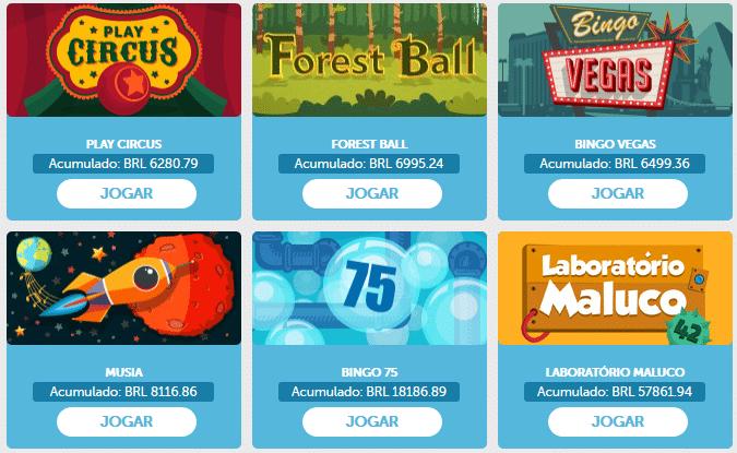 bônus de bingo promoção