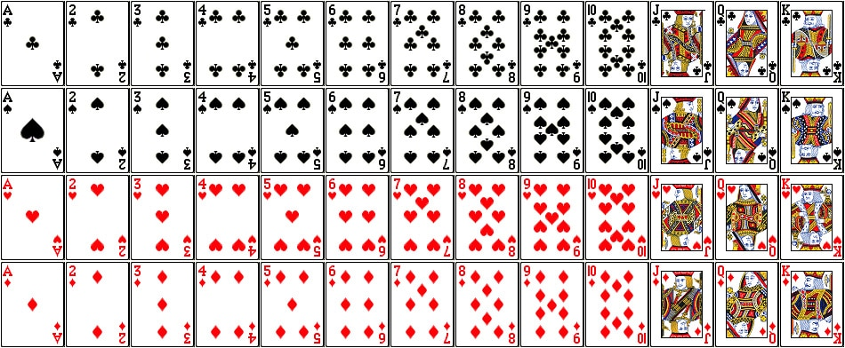 baralho de cartas blackjack