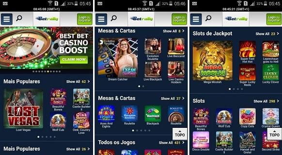 betrally app mobile
