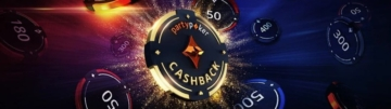Cashback Pokerparty devolve até 40% do investimento