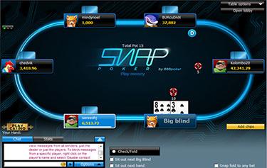 salas de pôquer