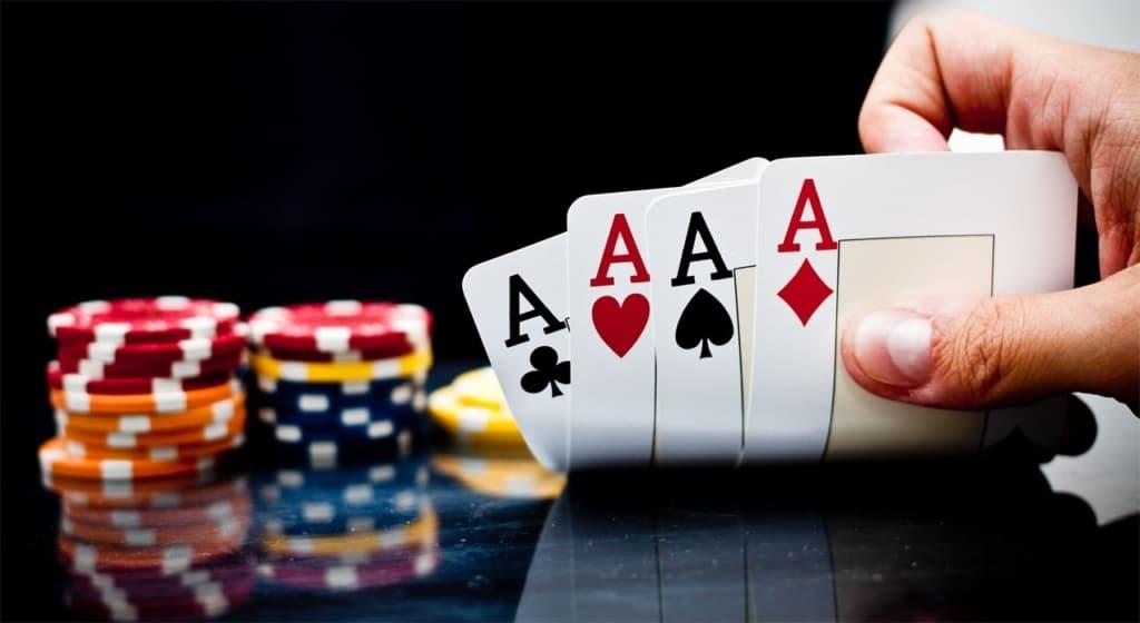 mão de pôquer