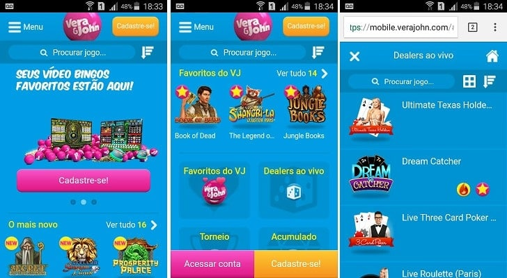 vera&john app mobile