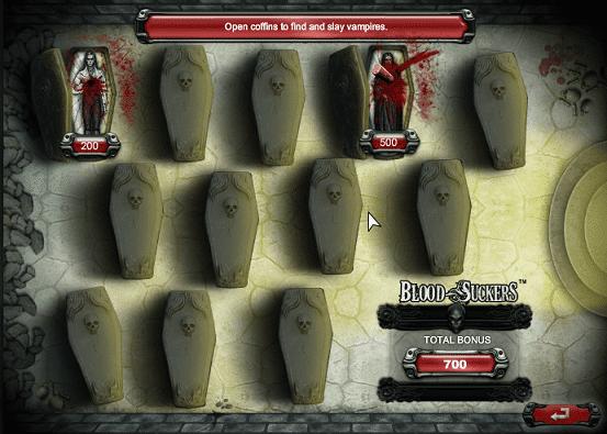 blood suckers caça-níquel bonus