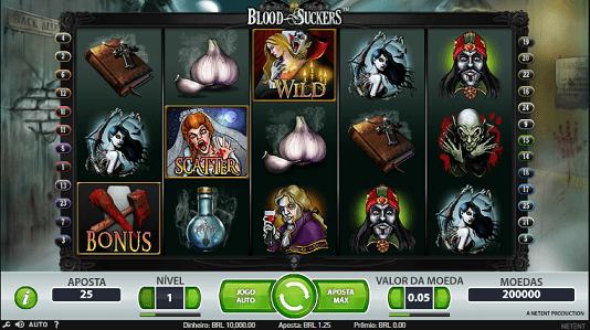 blood suckers caça-níquel