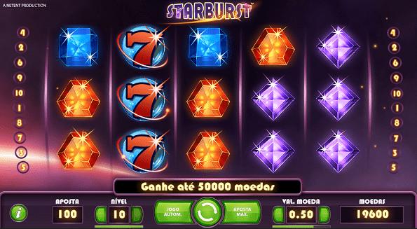starburst caça-níquel
