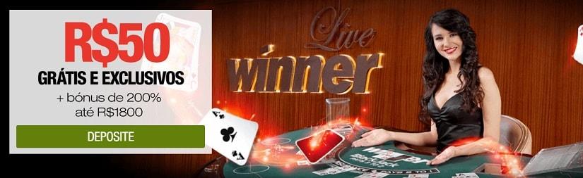 winner cassino live