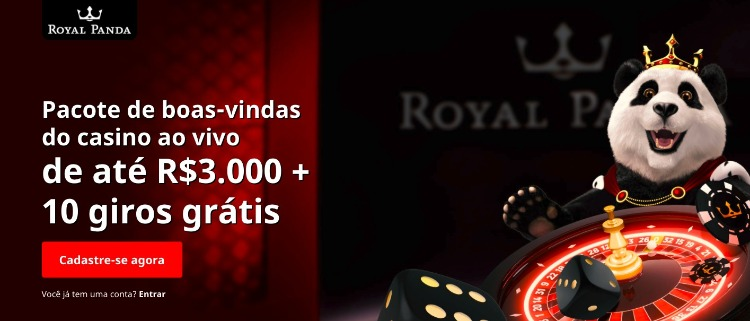 pagina de bonus do cassino royal panda