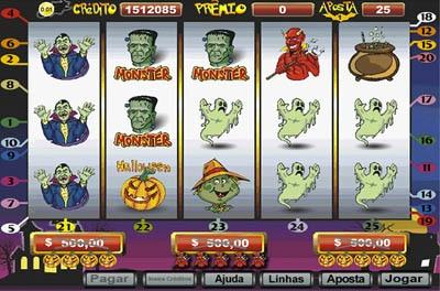 interface do jogo Halloween no cassino Playbonds
