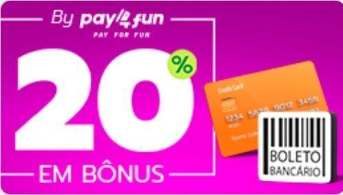 Bônus para depósitos com Pay4Fun em Playbonds
