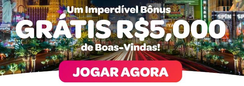 Bônus de boas-vindas Spin Casino Brasil