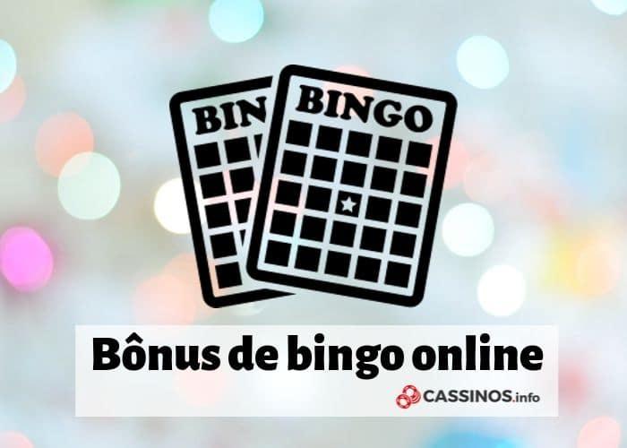 bônus de bingo online