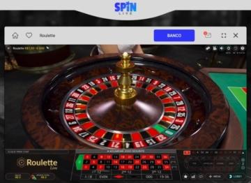 Jogos de roleta ao vivo no Spin Casino