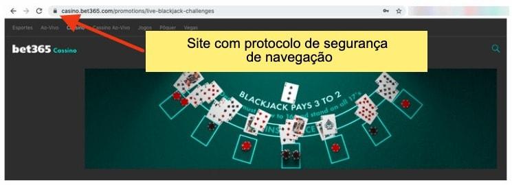 imagem do cassino bet365 com link de navegação segura