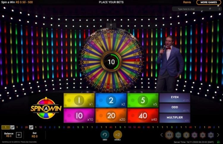 spin a win roleta
