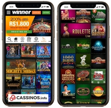 winner cassino no celular
