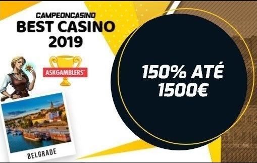 Bônus de boas-vindas para o Casino Campeónbet é bastante atraente