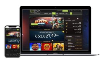 O Cassino Betboro possui um site que funciona bem em todas as plataformas