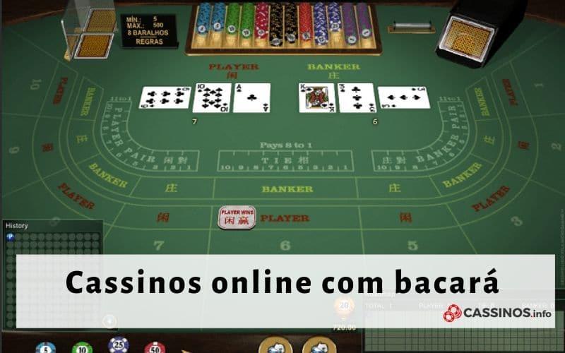 cassino bacará online