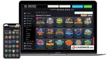 Vegas Crest Casino no mobile e desktop