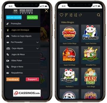 Vegas Crest Casino no celular