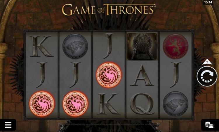 caça-niquel game of thrones