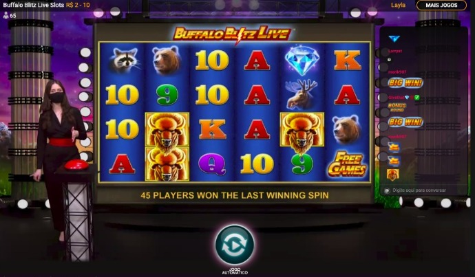 slots no cassino ao vivo