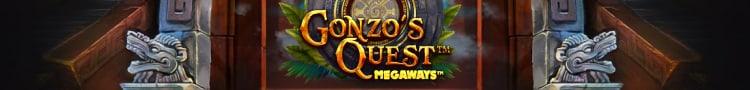 banner do caça-níquel Gonzo's Quest Megaways