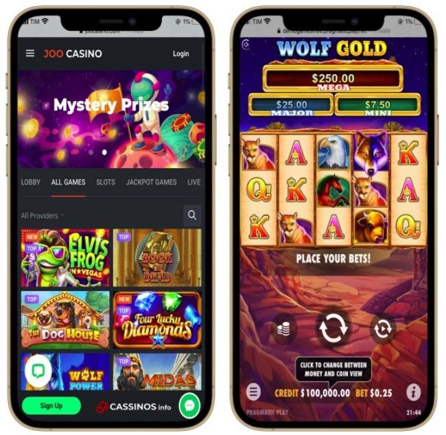 layout do joo casino no celular