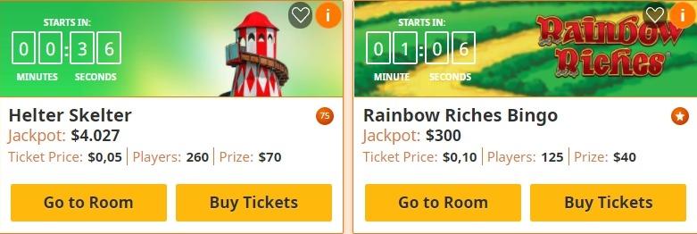 tela de acesso bingo playtech